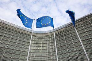 European Commission, administrative building of the European Union.