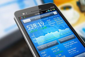 Stocks on Cell Phone
