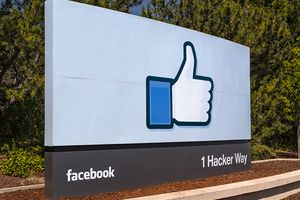 Image of Facebook like symbol