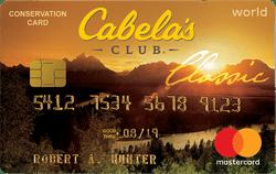 Cabela's CLUB Mastercard®