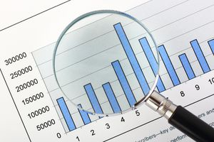 Magnifying Glass, On Business Graph
