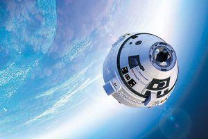 Boeing Starliner space capsule
