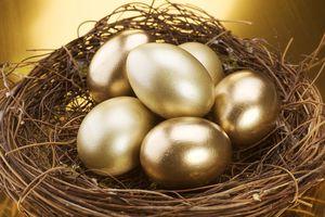 Nest of golden eggs