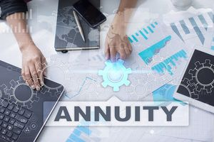 Puzzle image with Annuity written on it