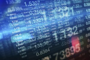 Stock prices on multi-layered stock market trading screens