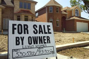 New homes under construction for sale by owner