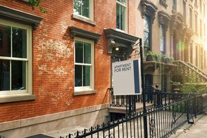 Brooklyn, NY, brownstone with