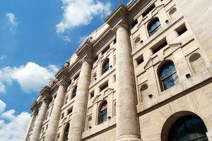 Milan - The Borsa Italiana in Business Square
