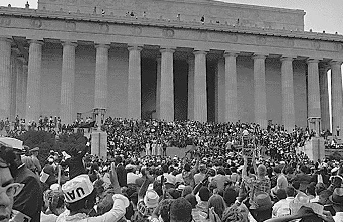 The March on Washington, August 23, 1963