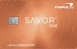 Capital One® SavorOne® Cash Rewards Credit Card