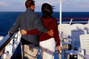 Couple on Board Ship