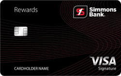 Simmons Rewards Visa Signature®