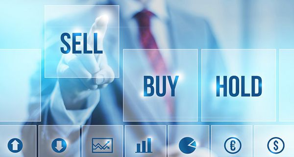 Image representing stock selling