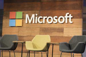 Image of the Microsoft company logo