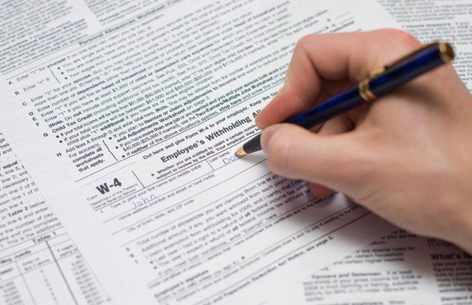 what is the purpose of a w- 4 form